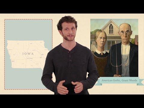 Iowa - 50 States - US Geography
