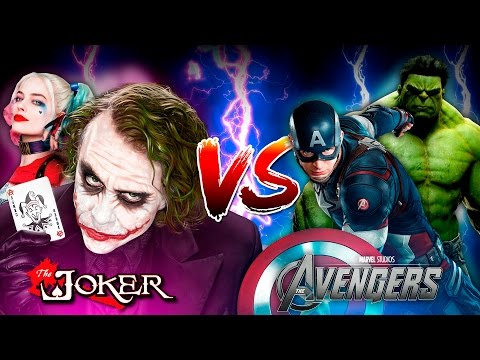 Minecraft HARLEY QUINN VS THE HULK!! - THE JOKER & HARLEY QUINN DESTROY HULK & CAPTAIN AMERICA!!!! thumbnail