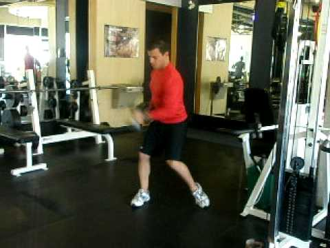 Calgary Herald Health Club: Shoulder Dumbbell Matrix