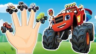 Blaze and The Monster Machines - Finger Family Nursery Rhymes - ABC Finger Family