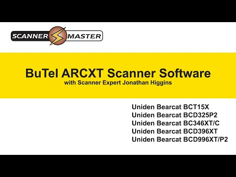 BuTel ARCXT Software   Programming Trunking and Conventional Systems