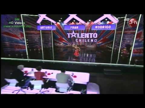 Nicole Muñoz Danza arabe Talento Chileno