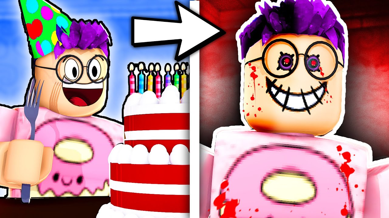 Can You Beat This Scary ROBLOX STORY ? (HAPPY BIRTHDAY