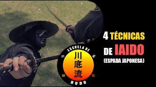 4 Técnicas espada para Auto Didactas de las Artes Marciales
