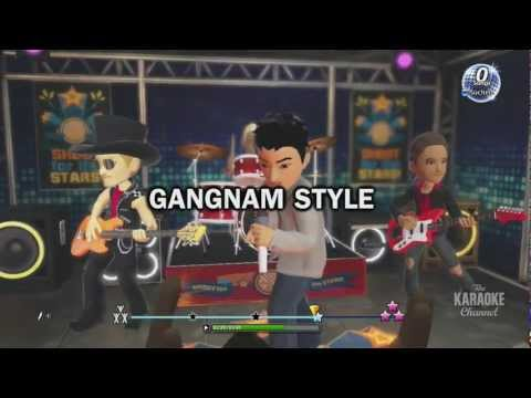 Xbox Karaoke App - PSY - GANGNAM STYLE (강남스타일) / Back At One / I Believe I Can Fly - V2.0