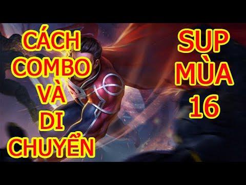 Cách Chơi Superman Mùa 16 | Cách chơi, cách di chuyển, phụ trợ, phù hiệu, ngọc Superman Liên Quân.