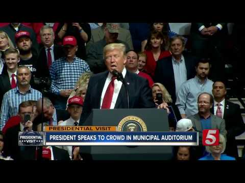 Trump Talks Healthcare, Travel Ban In Rally