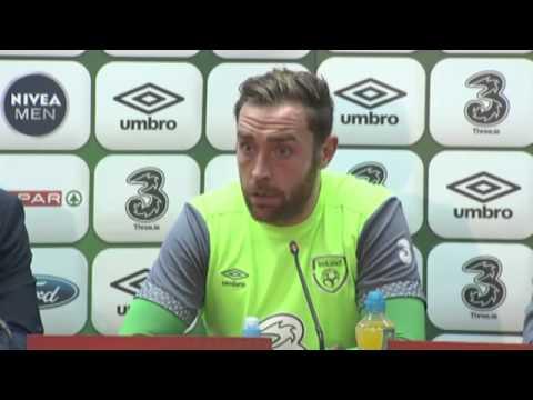 Bosnia and Herzegovina v Republic of Ireland - Pre Match Presser - O'Neill and Keogh (12/11/15)
