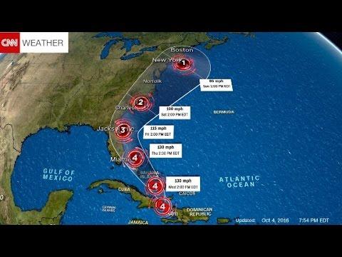 US evacuations begin ahead of Hurricane Matthew