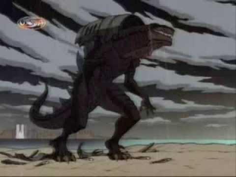 Godzilla The Series - S1E1 - New Family Part 1 Part 2.wmv