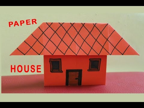 DIY How To Make Paper Home Easy For Kids  House Making_Magic art and DIY Craft