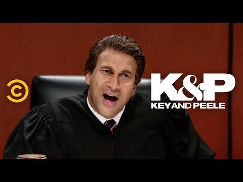 This TV Judge Is Overqualified - Key & Peele