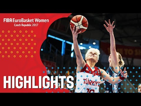 Turkey v Slovak Republic - Highlights - FIBA EuroBasket Women 2017