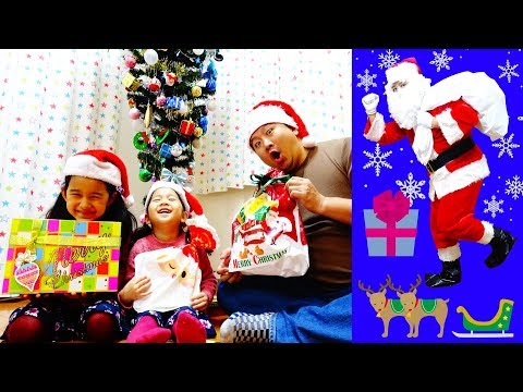 クリスマスプレゼント交換♡サンタさんがやって来た☆himawari-CH