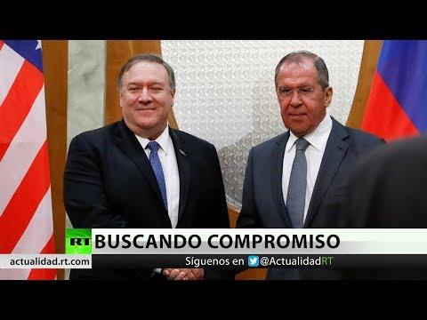 "Lavrov se reúne con Pompeo para dejar atrás la ""amargura mutua"""