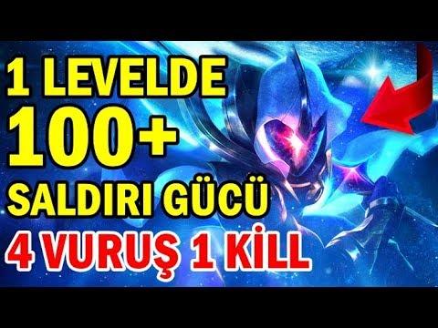 1 LEVELDE 100+ AD HİLESİ MASTER Yİ !! 4 VURUŞ 1 KİLL | SOLO MİD FARKETMEZ MASTER YOK EDER AFFETMEZ