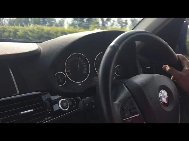 BMW X3 20d top speed.!!! 220kmph on Hyderabad ORR