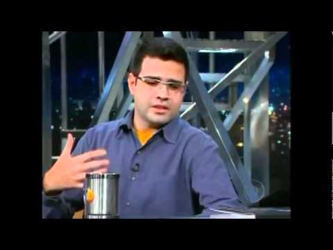 Luiz Felipe Carneiro fala sobre Axl Rose no Programa do Jô.