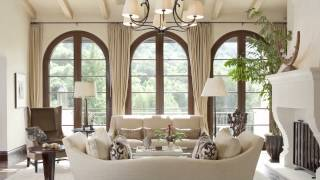 This Santa Barbara Mediterranean style home exudes a sense of easy refinement