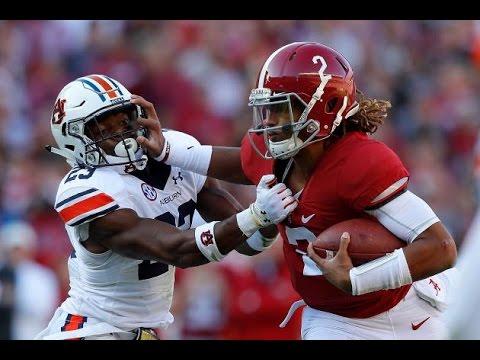 Alabama vs Auburn 2016 Highlights