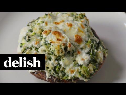 Spinach Artichoke Portobellos  Delish