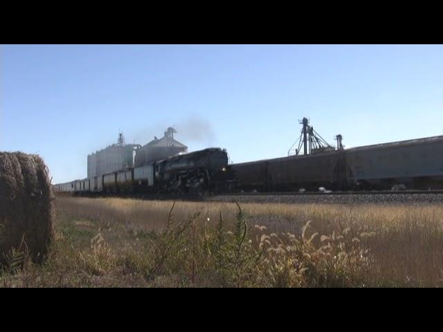 Union Pacific 3985 Westbound - Odessa, Nebraska