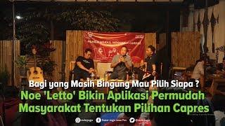 Bingung Pilih Jokowi atau Prabowo ? Bisa Coba Aplikasi Bikinan Noe Letto Ini