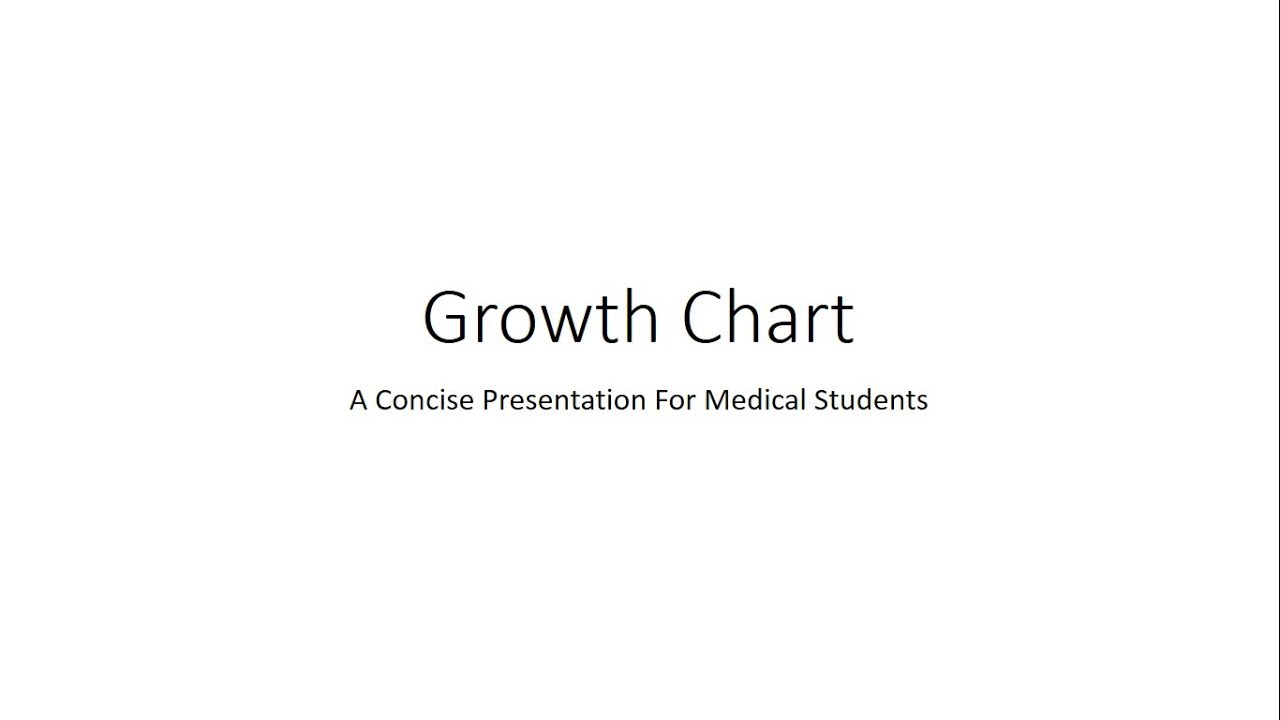 Growth Chart Road To Health Chart Psm For Medical Students Youtube