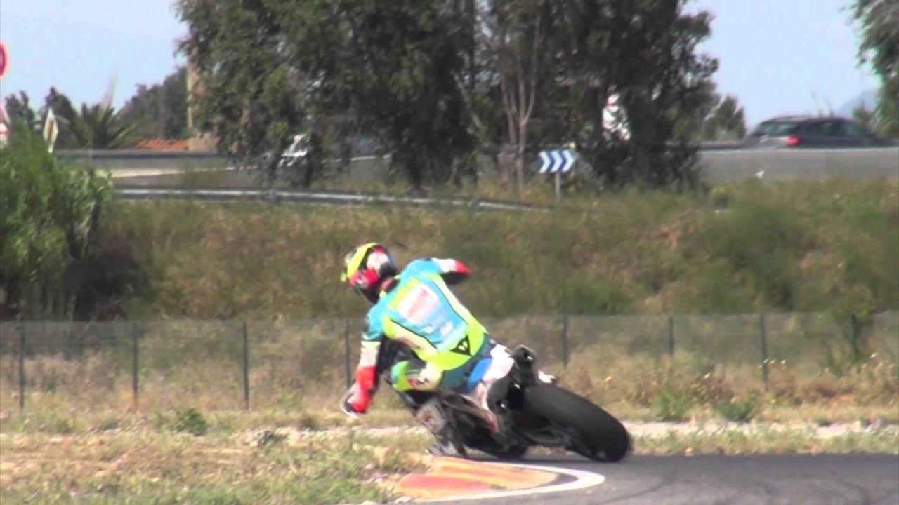 Motos Au Grand Circuit Du Roussillon