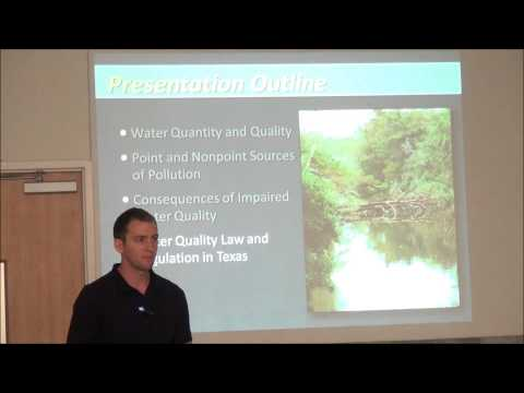 Water quality basics and protection strategies in Texas
