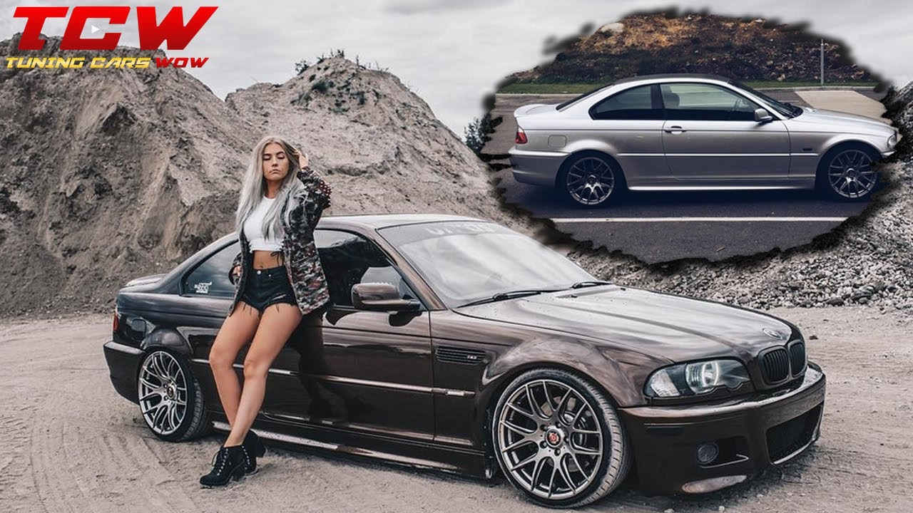 Bmw E46 330 Ci Brownie On 3sdm Rims Tuning Project By Karmely Youtube
