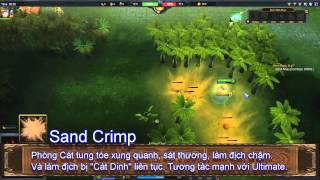 Chaos Online - Hero Shaharah - Hướng Dẫn Hero (MOBA)