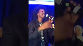 Gambar cover Ilhan Omar with K'naan in DC for her Party to Congress m