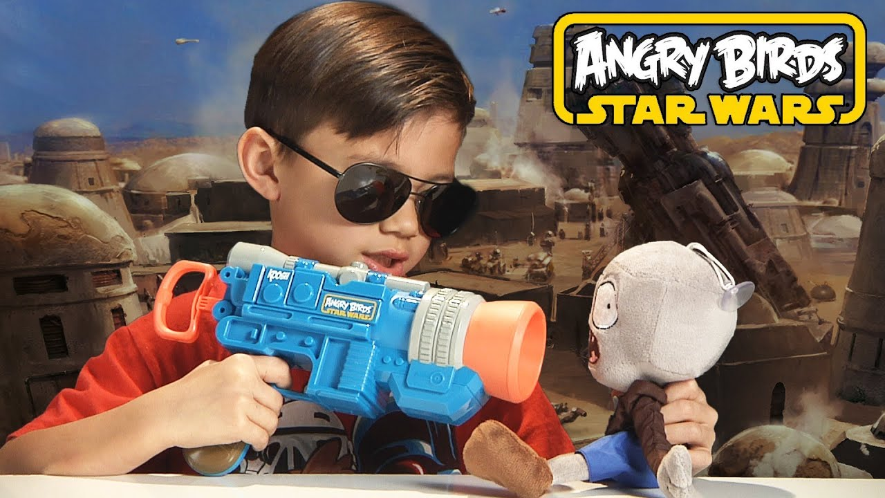 Nerf Star Wars (Modified Nerf Guns) - YouTube