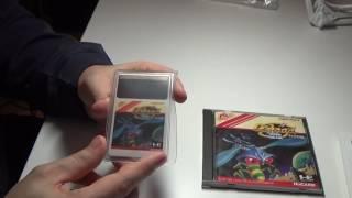 Распаковка геймплей с комментариями игры Galaga 88 PC Engine
