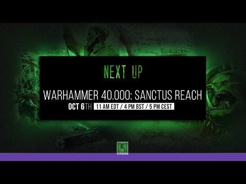 Sanctus Reach Stream 10/6/2017  5-6 PM CEST
