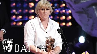 Sarah Lancashire wins Leading Actress for Happy Valley | BAFTA TV Awards 2017