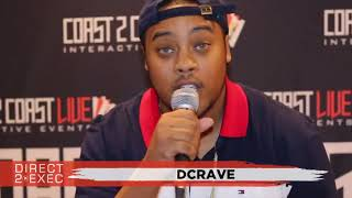 Dcrave Performs at Direct 2 Exec Denver 4/20/18 -  Warner Music Group