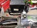 Lambretta Master Cylinder No Notch Headset Modification