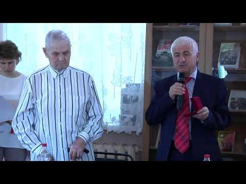 Вручение награды ветерану «Русгидро»