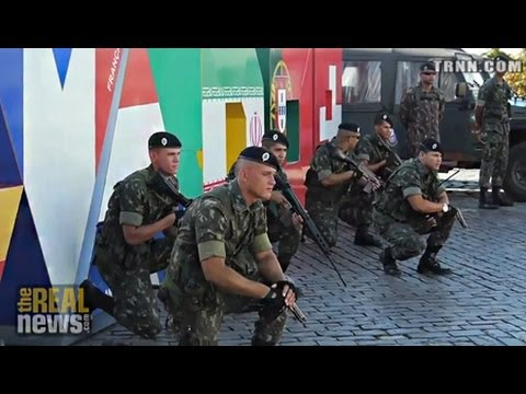Brazilian Military deployed, Civil Unrest intensifies 48 hours Before World Cup
