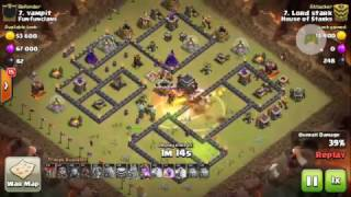 Clash of Clans   War Recap   3 Star series   #164 win   Th 10 & 9   unusual strategies  