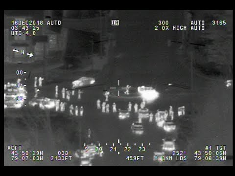 Air1 Follows Suspect after Failing to Stop for Police