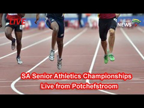 SA Senior Athletics Championships LIVE in coming Feed not a Broadcast production