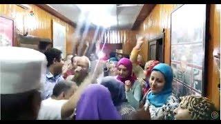 موظفي شركة الأهرام للمجمعات الاستهلاكية يقيمون وقفة احتجاجية: