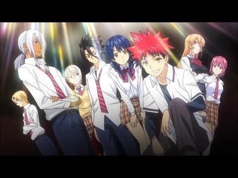 Shokugeki No Soma Opening 3 With Lyrics - Rough Diamonds By SCREEN Mode