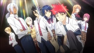 Shokugeki no Soma Opening 3 With Lyrics - Rough Diamonds by SCREEN ...