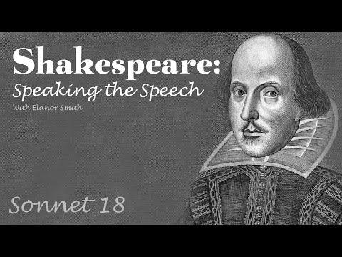 Shakespeare: Speaking the Speech