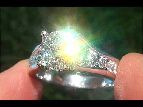Certified VS1/G Natural Diamond Engagement Anniversary Wedding 14k White Gold Ring - C917