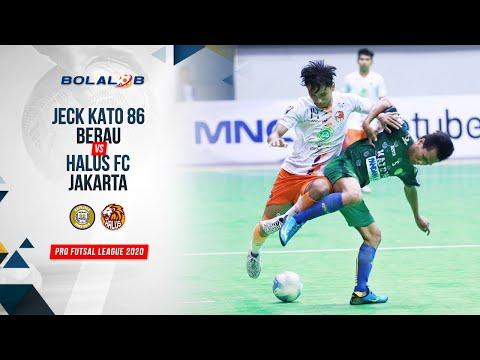 Jeck Kato 86 Berau (2) Vs (5) Halus FC Jakarta   Highlights Pro Futsal League 2020